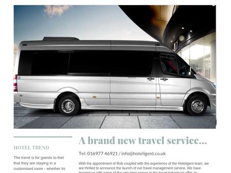 A brand new travel service...