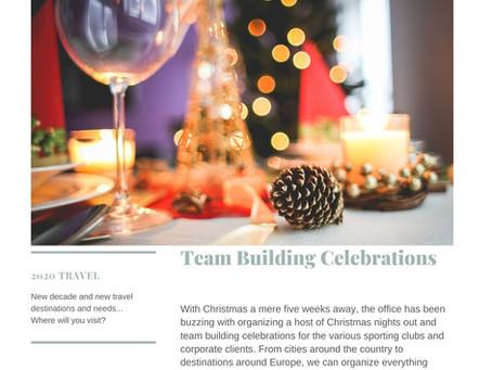 Team Building Celebrations...