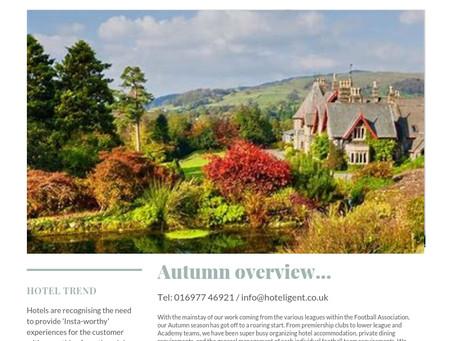Autumn overview...