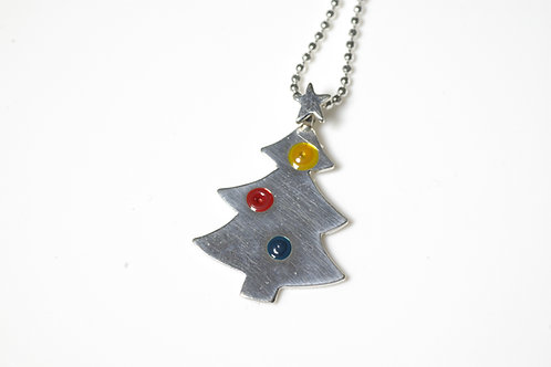 Christmas Tree with Star Pendant