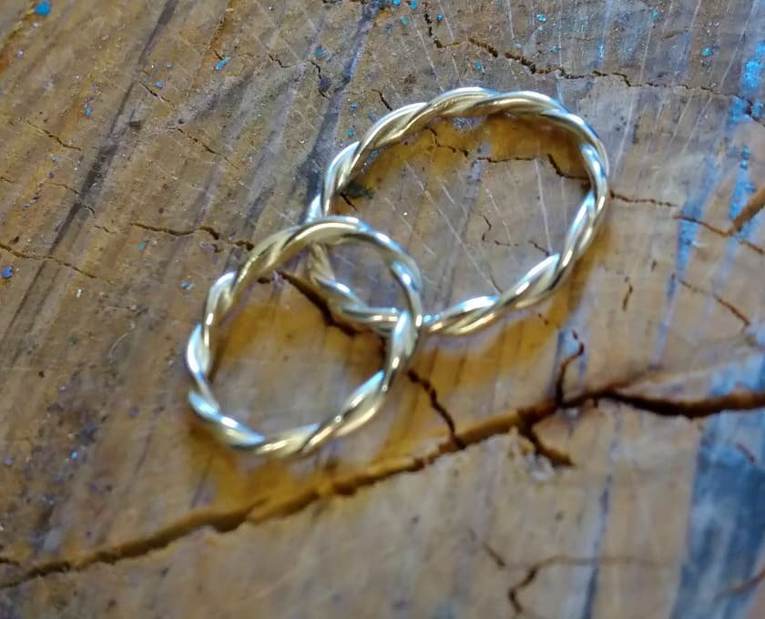 Beginners: Make a silver ring. From £100