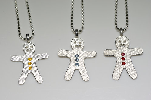 Gingerbread Cookie Pendant