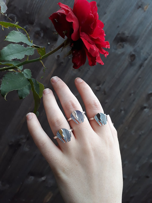 Silver Nellie Ring