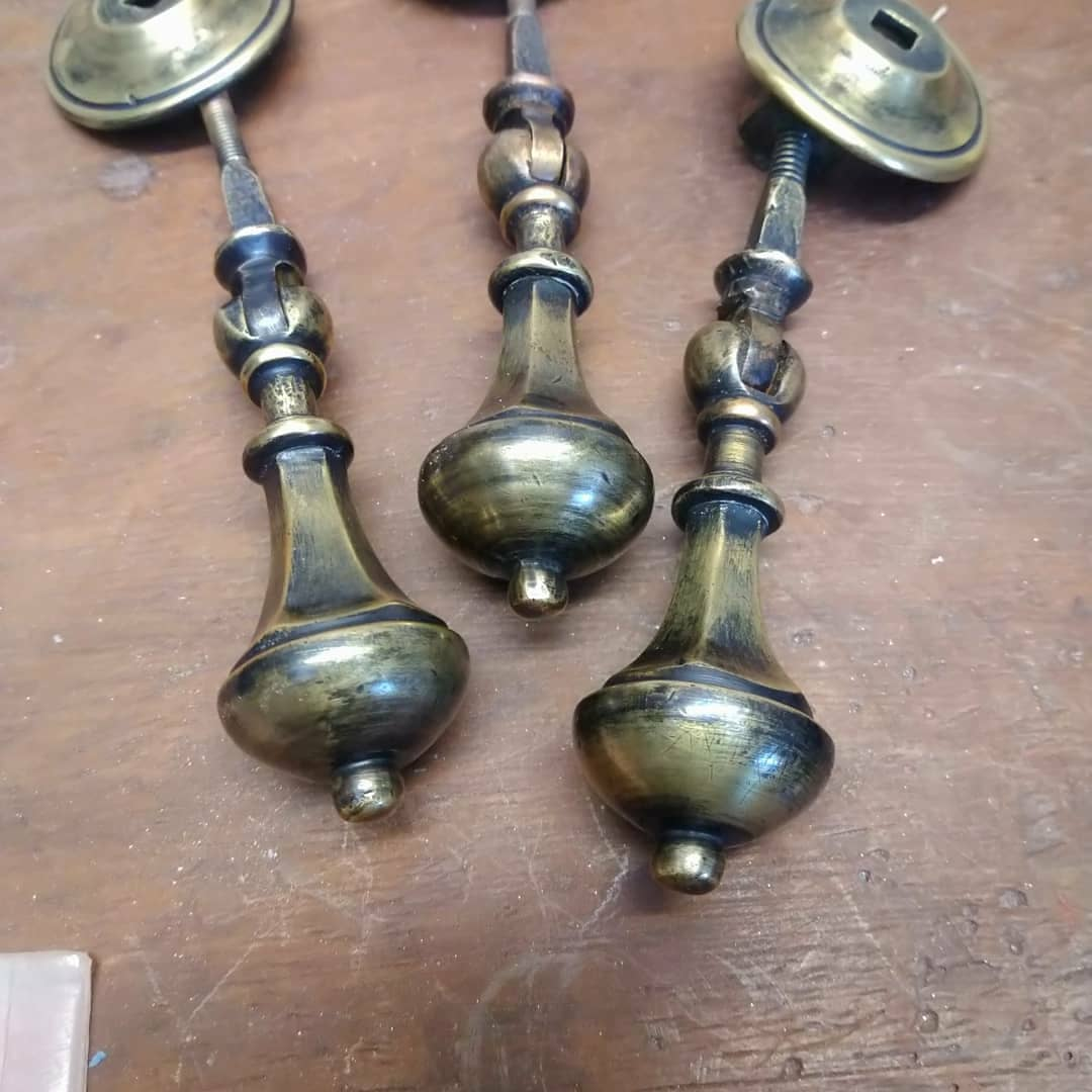 Repair: Brass Draw Handles