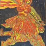 Guache sobre papel / gouache on paper   1952   36,7 x 55,1 cm (T018501)