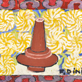 Óleo e guache sobre papel / oil and gouache on paper   1953   28,1 x 38,2 cm (T007955)