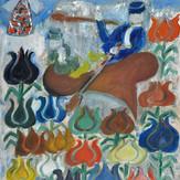 Óleo sobre tela / oil on canvas   1976   65 x 50 cm (T001280)