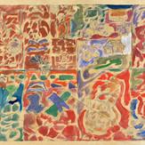 Óleo sobre papel / oil on paper   1951   38,5 x 56,3 cm (T08972B)