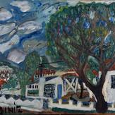 Óleo sobre tela / oil on canvas   1970   48 x 75 cm (T001038)