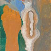Óleo e guache sobre papel / oil and gouache on paper   1957   48 x 32,6 cm (T010394)