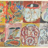 Óleo e guache sobre papel / oil and gouache on paper   sem data /undated   39,7 x 58,7 cm (T017491B)