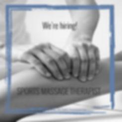 Career - Sports Massage Therapist
