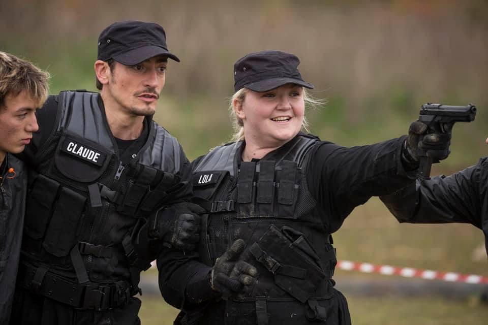 Apprentissage du tir - Claude Dartois et Lola Dubini