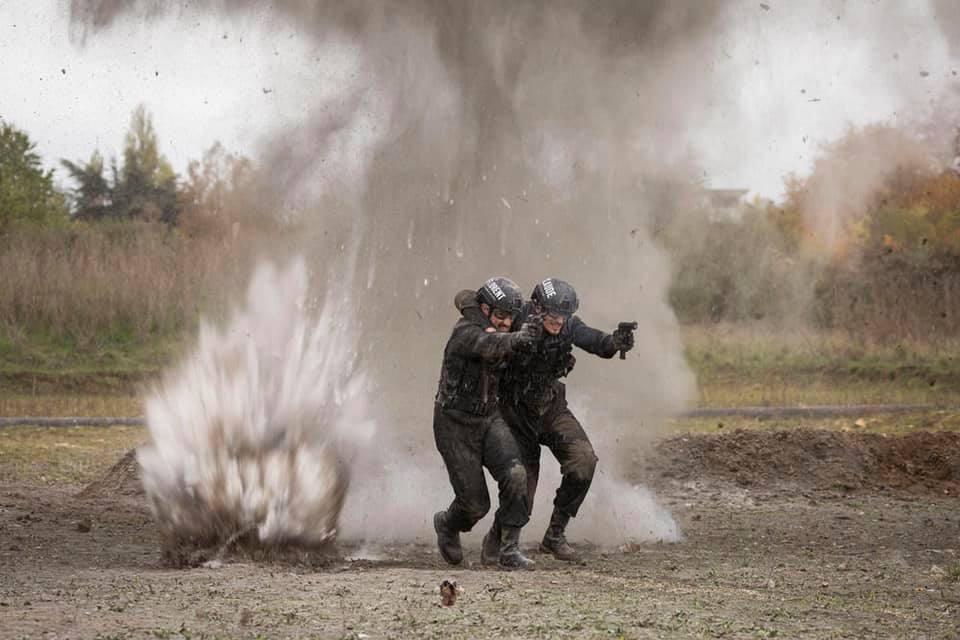 Scène de guerre - Claude dartois et Florent Peyre