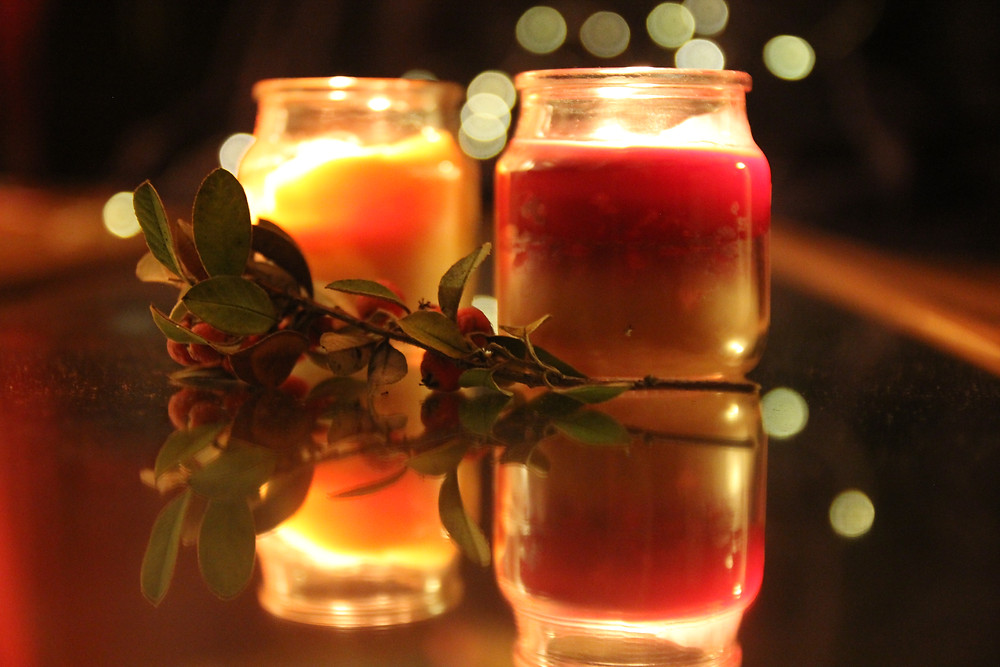 Holy Nights sacred practice candles