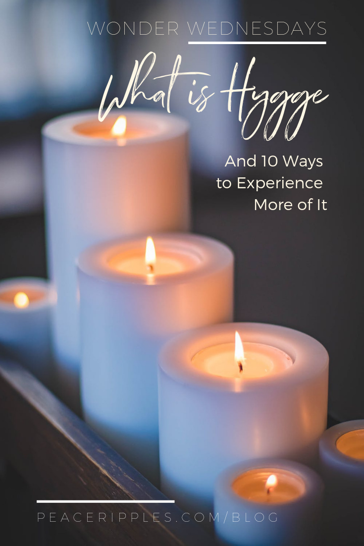 Cozy warm winter hygge tips