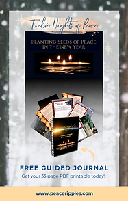 Twelve Nights of Peace Holy Nights Stein