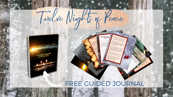 Twelve Nights of Peace Holy Nights Guided Journal inspired by the anthroposophy of Rudolf Steiner