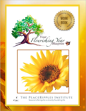 Your Flourishing Year Blueprint PeaceRipples
