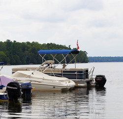 Sand Lake Campground & Cottages - boating