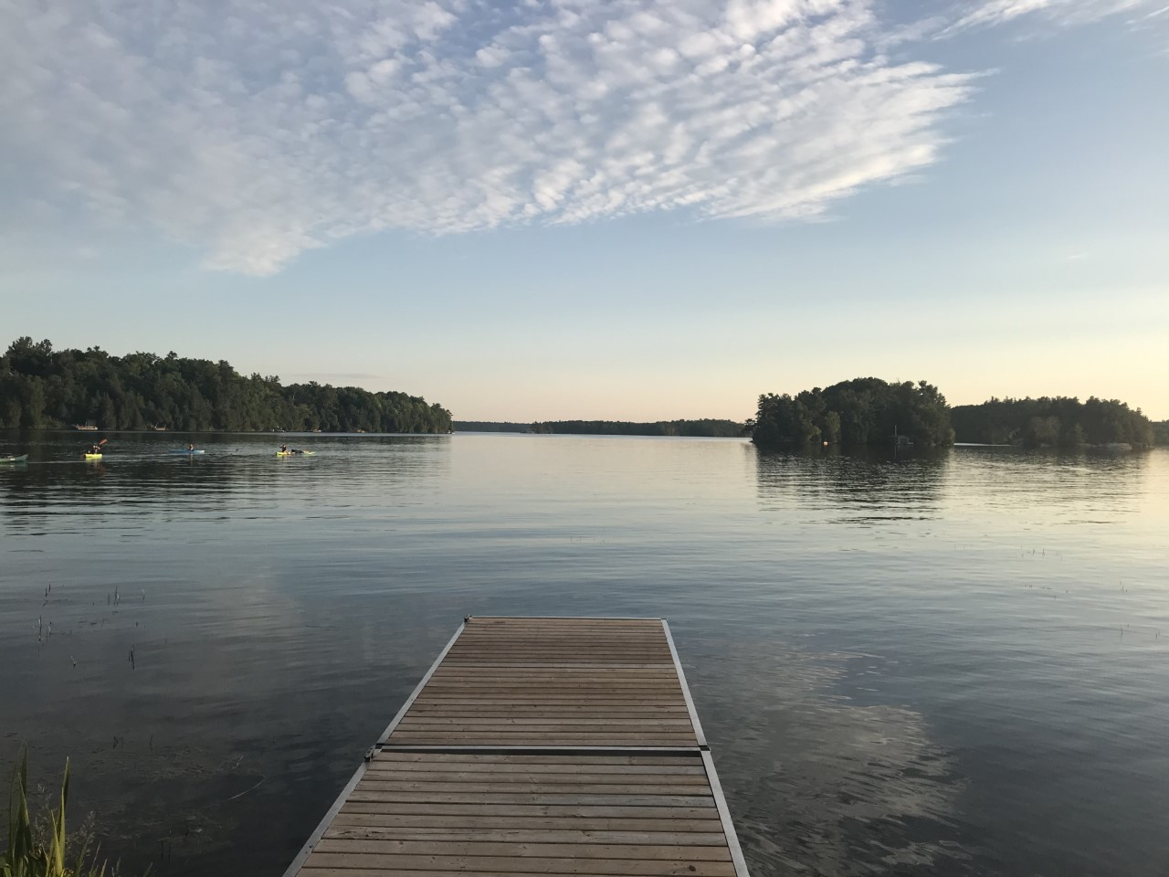 The views from Sand Lake