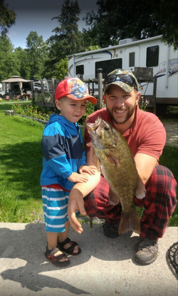 Sand Lake Campground & Cottages - Fishing