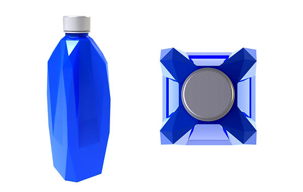 crystal bottle concept kryptonite
