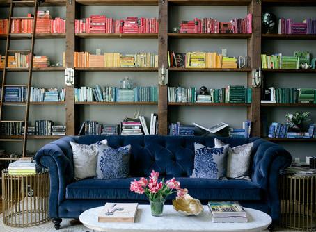 Books make a home!