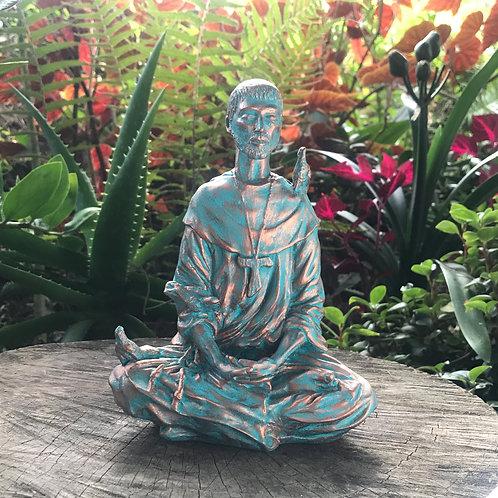 São Francisco de Assis Meditando