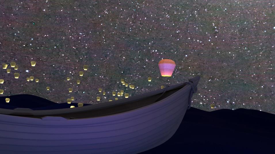 Lantern Crowd Simulation (2018)