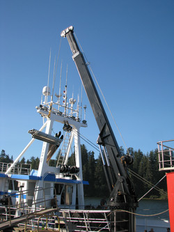 40-FOOT TELESCOPING BOOM CRANE