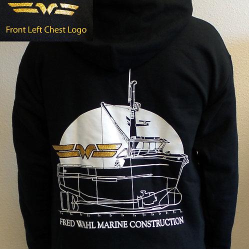 FWMC Hooded 1/4 Zip Sweatshirt