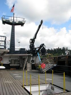 26-FOOT TELESCOPING BOOM CRANE