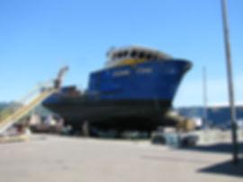 Fishing Vessel Mid-Body   Boat Repair Service   F/V Ocean Invictus