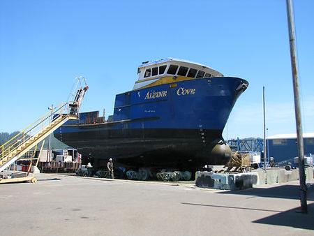 Fishing Vessel Mid-Body | Boat Repair Service | F/V Ocean Invictus