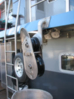 FISHING VESSEL LINE COILERS