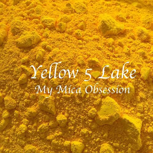 FD&C Yellow 5 Lake Dye
