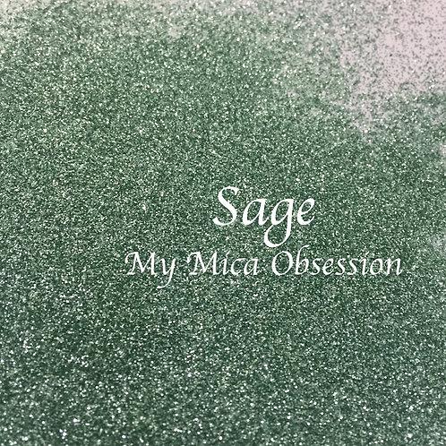 Sage - Matte Glitter