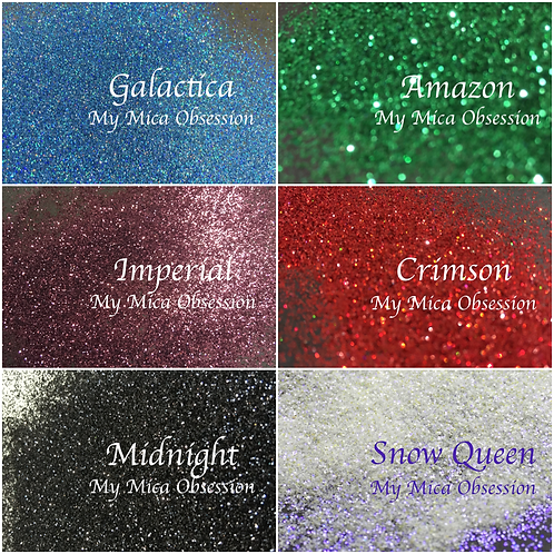 Moody Hues Obsession Glitter Set