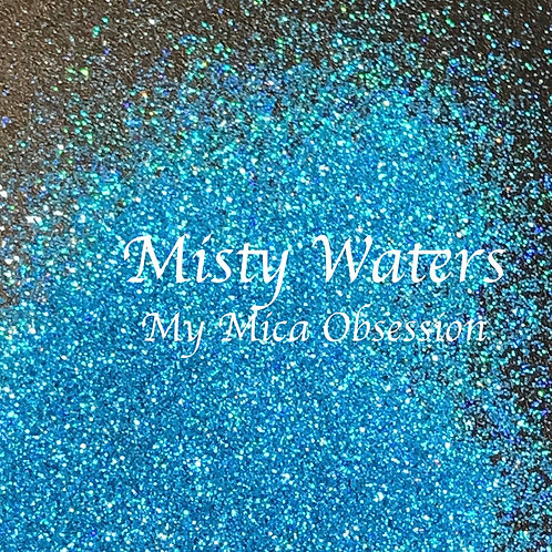 Misty Waters - Holographic Glitter