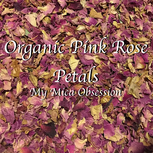 Rose Petals - Pink Organic