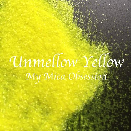 Unmellow Yellow Neon Glitter