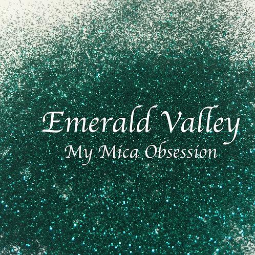 Emerald Valley - metallic glitter