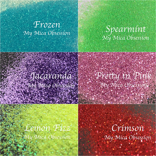 My Obsession Glitter Set