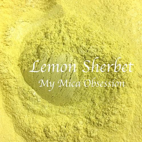 Lemon Sherbet Mica