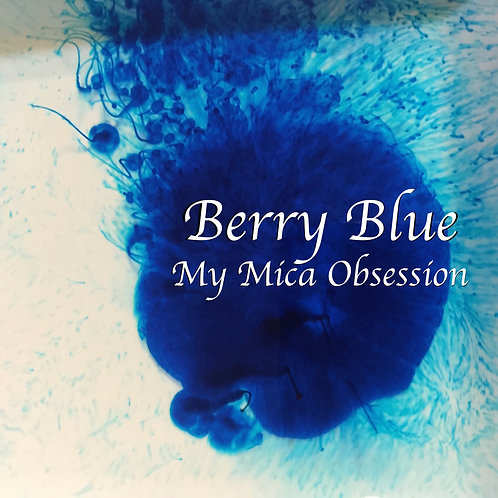 Berry Blue Bath Bomb Dye