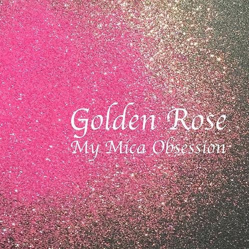 Golden Rose - Iridescent Glitter