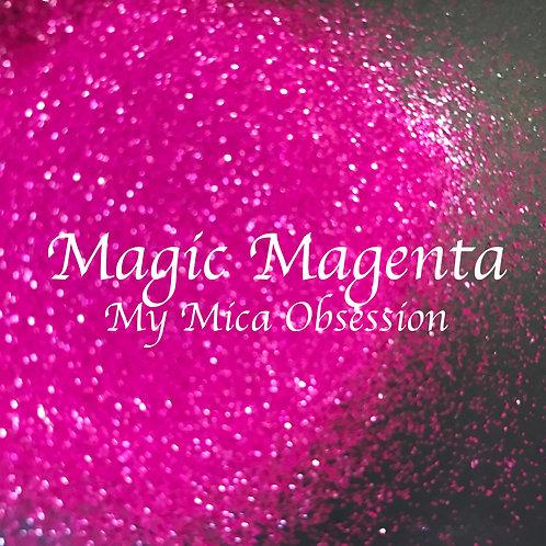 Magic Magenta - Neon Glitter