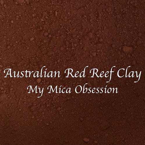 Australian Red Reef Clay