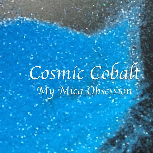 Cosmic Cobalt Neon Glitter